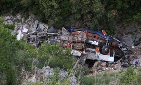 Tragedija u Crnoj Gori – 18 putnika poginulo