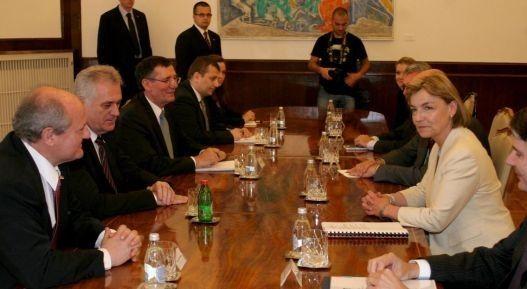 Hrvatska za dodjelu datuma Srbiji