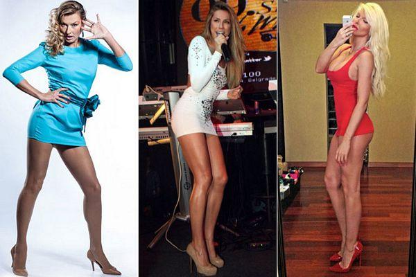 Ovo su najbolje noge srpske estrade (FOTO)