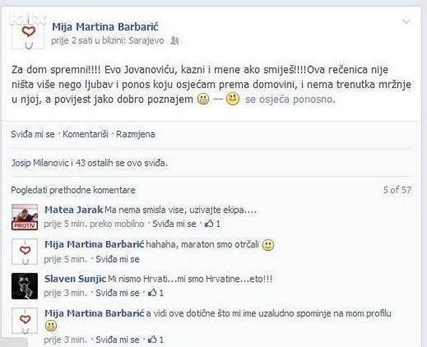 Službenica Vlade FBiH Mija Martina Barbarić – takođe za dom spremna