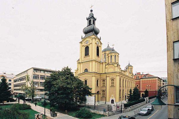 Sarajevo: Pokušaj krađe oluka sa Sabornog hrama