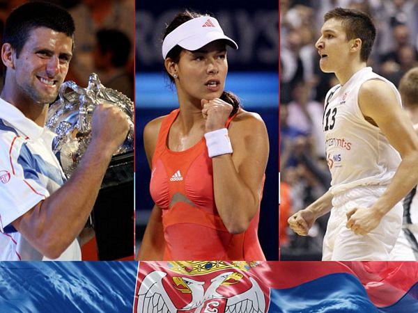 Novak, Ana i KK Partizan brendovi Srbije