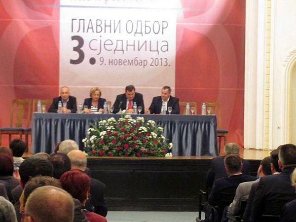 GO SNSD-a: Naredne sedmice imena kadrova za Savjet ministara