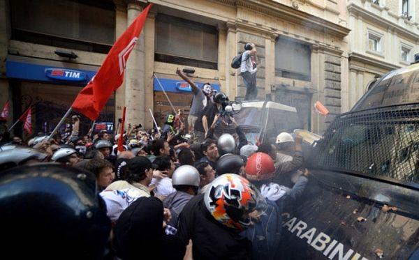Italija: Sukobi policije i demonstranata zbog brze pruge