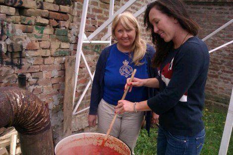 Jelena Janković sprema ajvar