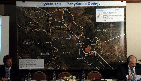 "Utvrđen prostorni plan za gasovod ""Južni tok"""
