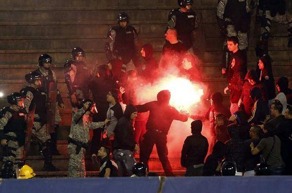 Huligane sa stadiona odmah u zatvor