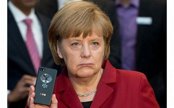Pet zemalja prisluškivalo Angelu Merkel