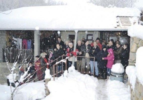 Snijeg i prijatelji spriječili rušenje!