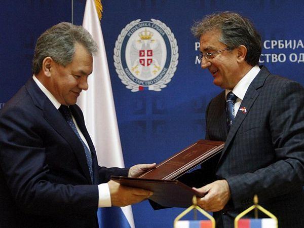 Potpisan sporazum Srbije i Rusije u oblasti odbrane