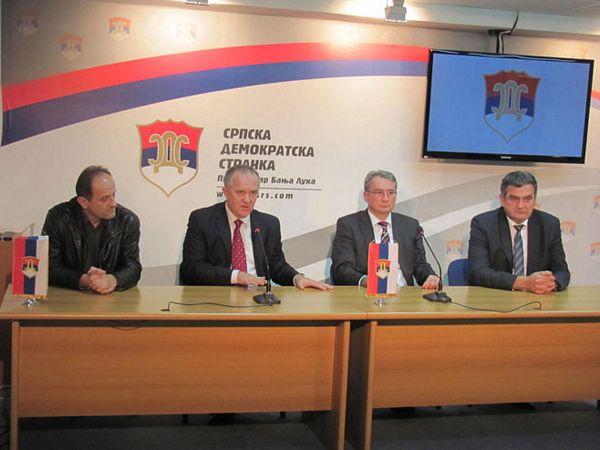 SDS-NDP: Zajednički na izbore za predsjednika