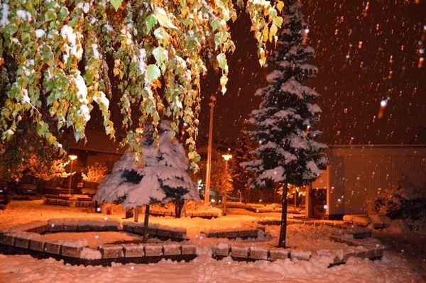Banjaluka pod prvim snijegom (FOTO)