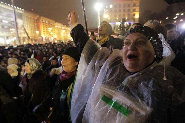 Ukrajinci protestuju zbog EU