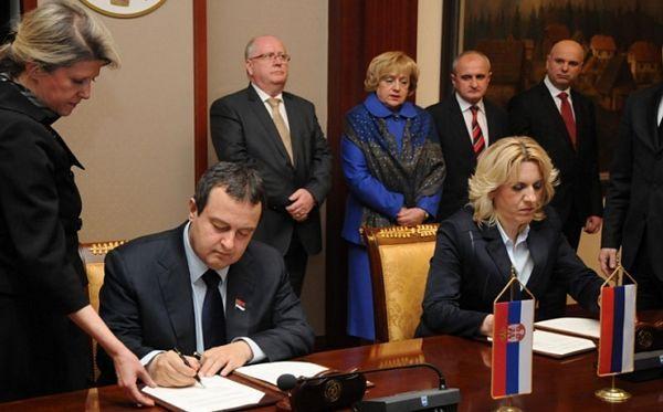 Potpisan Memorandum o razumijevanju vlada Srpske i Srbije