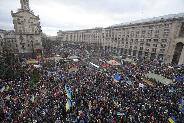 """Ukrajinski """"Marš miliona"""": Srušimo tiranina"""