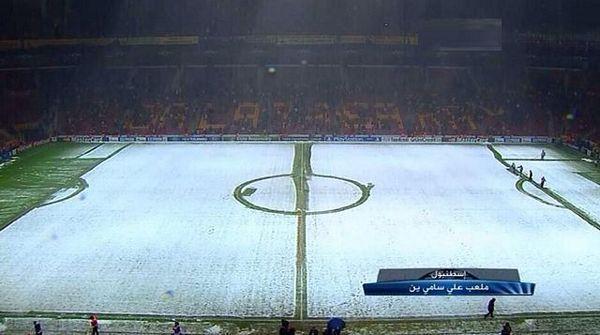 LŠ: Snijeg odložio meč u Istanbulu