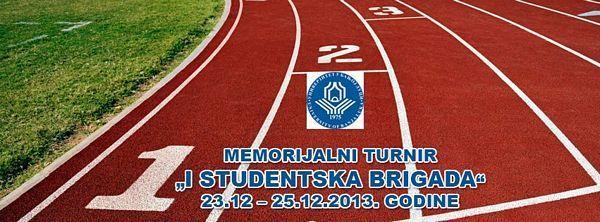 """Memorijalni turnir """"I Studentska brigada"""""""