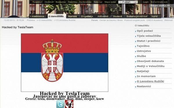 Srušeno 100 hrvatskih sajtova zbog diskriminacije Srba