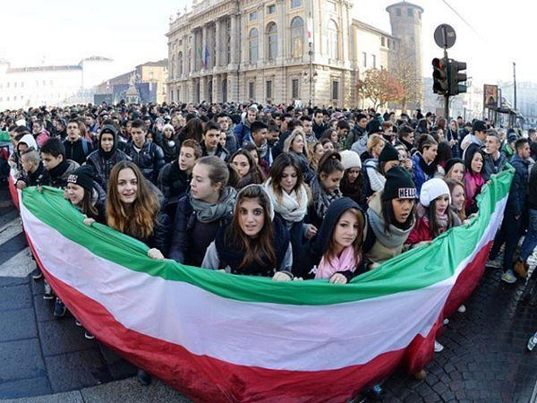 Protesti i sukobi u Italiji
