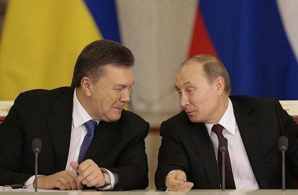 Dogovor Putina i Janukoviča o gasu