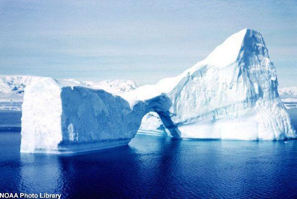 Antarktik: U avgustu 2010. godine izmjerena temperatura 93 stepena ispod nule