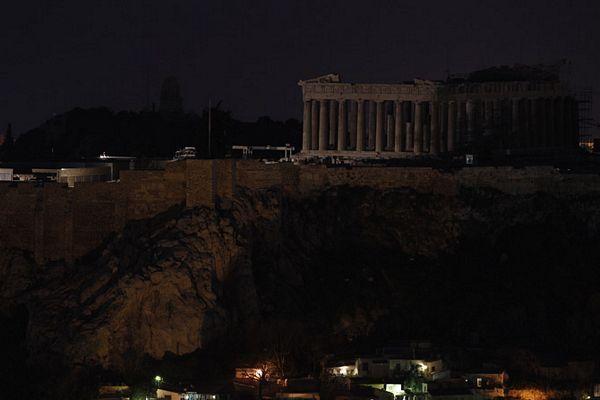 Atina u mraku zbog nevremena