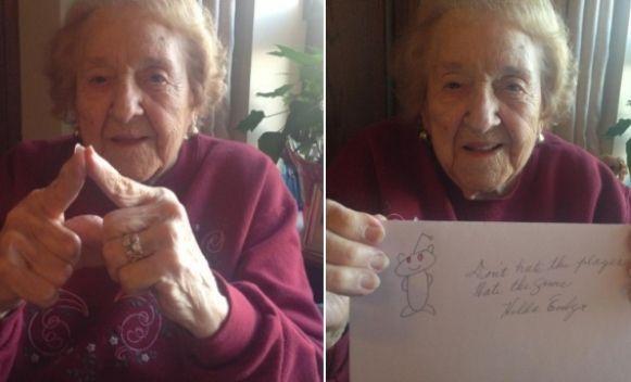 Najgotivnija baka na Internetu!