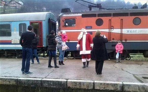 Saobraćao voz Djeda Mraza