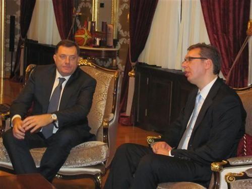 Odnosi Srbije i Srpske uspostavljeni na racionalnom i realnom nivou