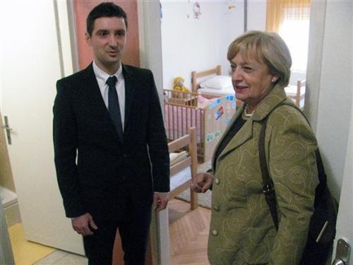 """U Dječijem domu """"Rada Vranješević"""" otvoren Majčinski dom"""
