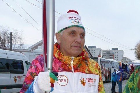 Umro noseći olimpijsku baklju