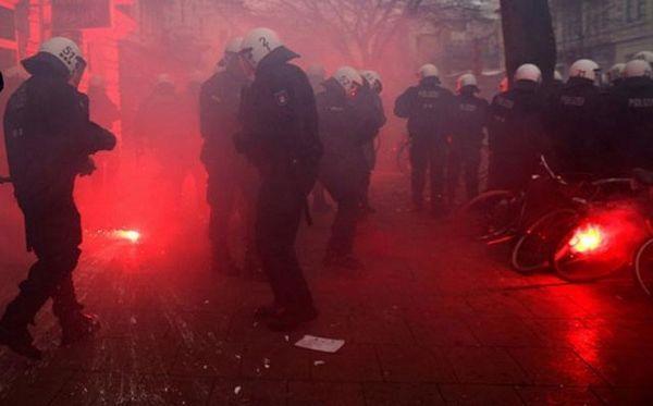 Hamburg: 22 policajca povrijeđena u demonstracijama