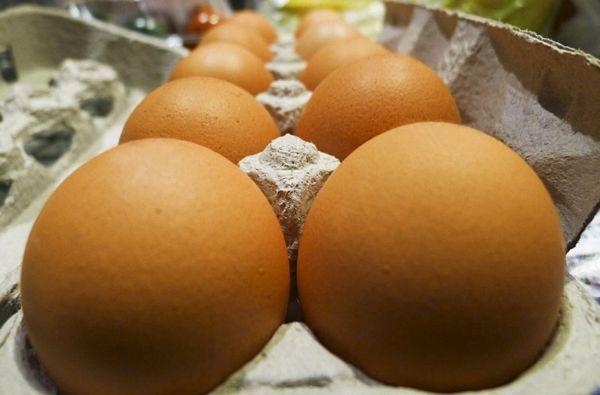 Zgradu federalne vlade opet gađali jajima