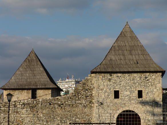 """Ugašen požar na krovu tvrđave """"Kastel"""""""