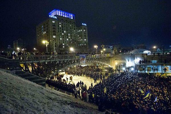 Uklonjene barikade u Kijevu