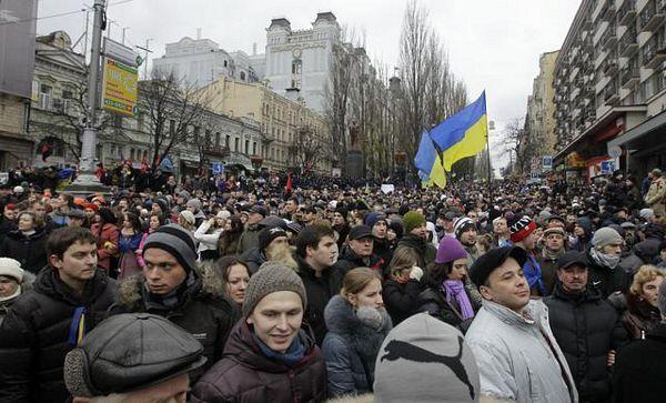 Kijev: Na protestu 200.000 ljudi
