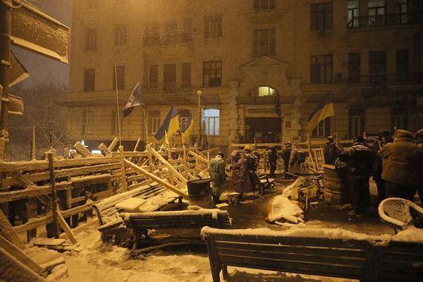 Kijev: Razbijena blokada vlade