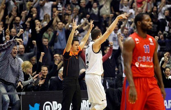 Partizan izgubio, ali prošao u Top 16