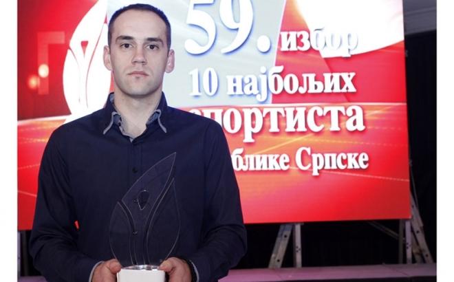 Filip Adamović najbolji sportista Republike Srpske