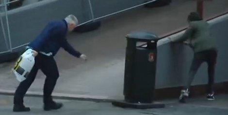 Norvežane oduvao vjetar sa ulice (VIDEO)
