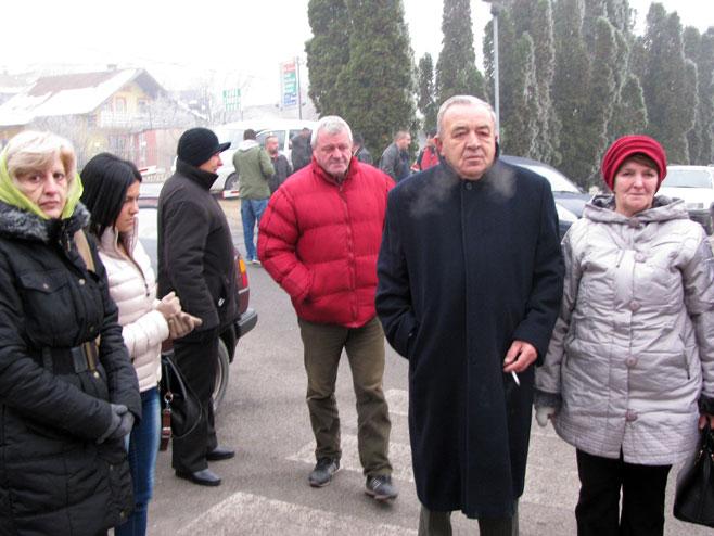 Protest ispred zgrade Tužilaštva BiH