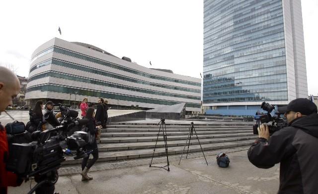 Sarajevo: Na proteste došli samo novinari i niko više