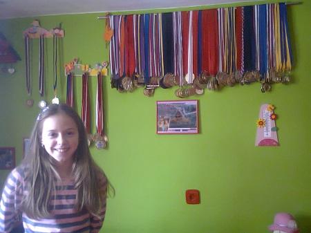 Naši talenti: Sara Kremenović –  rođena plivačica