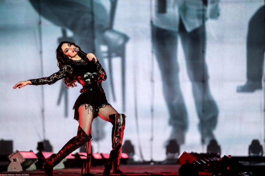 Severina se nakon koncerta u Splitu opuštala