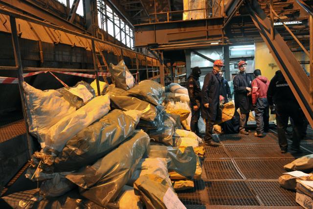 Obrenovac: Spaljeno 1.740 kg droge