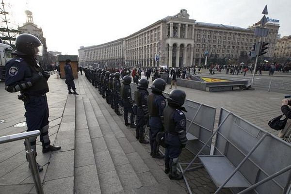 Kijev: Zabrane i novi protest u podne
