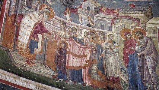 Danas Vavedenje presvete Bogorodice