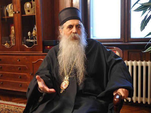 Vladika Irinej: Biskupi i župnici protiv ćirilice