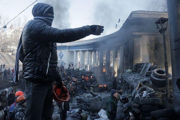 Kijev ponovo u plamenu