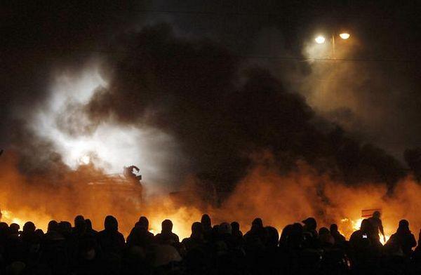"Kijev: SMS ""upozorenja"" demonstrantima"